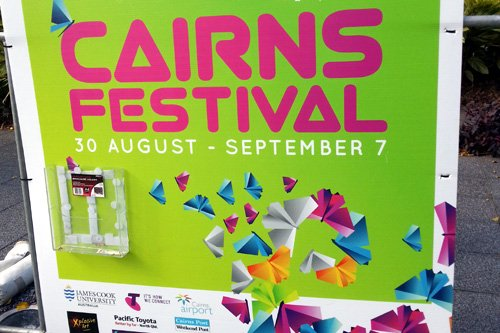 Cairns Festival - Stadtfest in Cairns