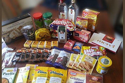 Lebensmittel beim Australischen Zoll