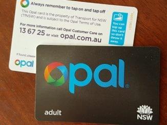 Opal Card - die elektronische Fahrkarte für Sydney