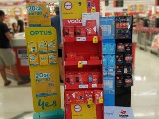 Sim-Karten aus dem australischen Supermarkt