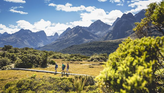 Routeburn Track Neuseeland