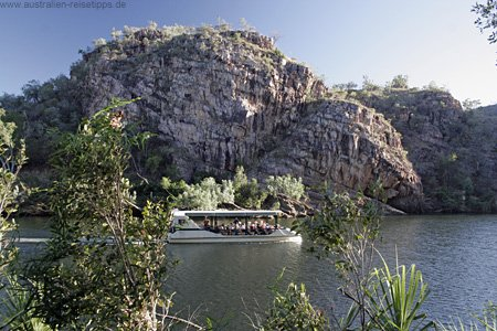 Ausflugsboot im Katherine Gorge