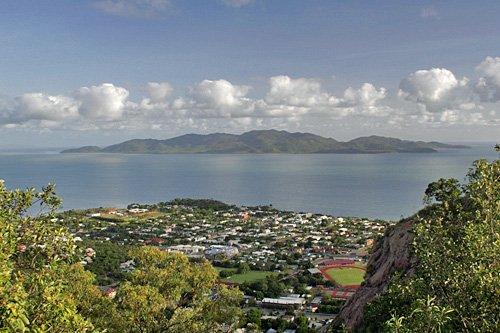 Magnetic Island von Townsville aus gesehen