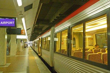 Nahverkehrszug in Brisbane