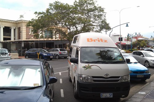 Wohnmobil Australien