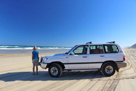 Mit dem Geländewagen unterwegs in Australien