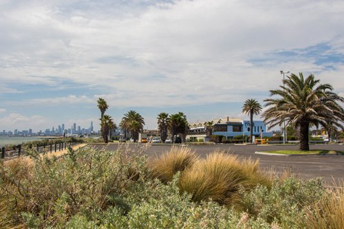 Am Strand von St Kilda, Melbourne