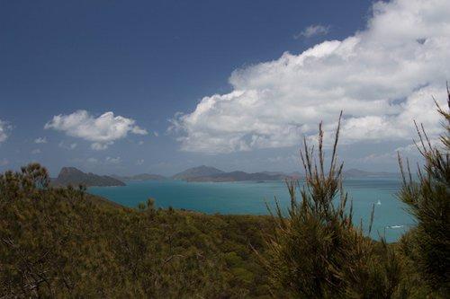 Weite Aussichten am Resort Lookout, Hamilton Island
