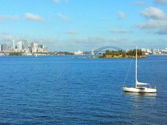 Sydney von Rose Bay aus gesehen.
