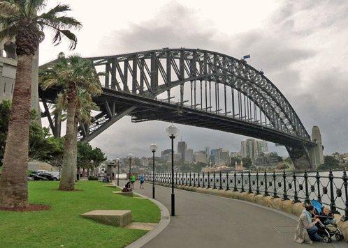 Hafenbrücke in Sydney - Foto von Peggy aus Berlin