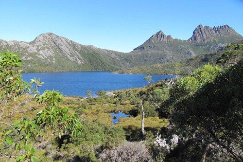 Dove Lake Tasmanien Australien