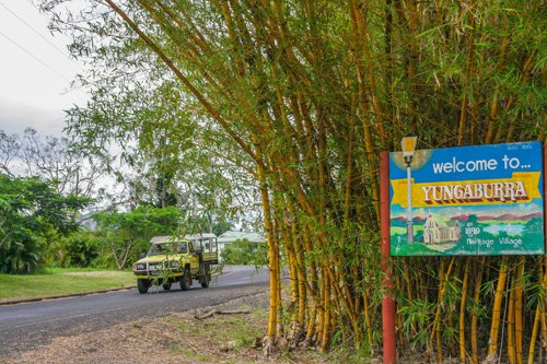 Yungaburra in den Atherton Tablelands bei Cairns
