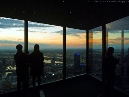 Eureka Tower - Skydeck 88 & The Edge