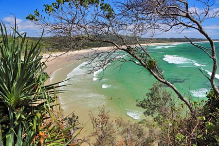 Broken Head Nature Reserve bei Byron Bay